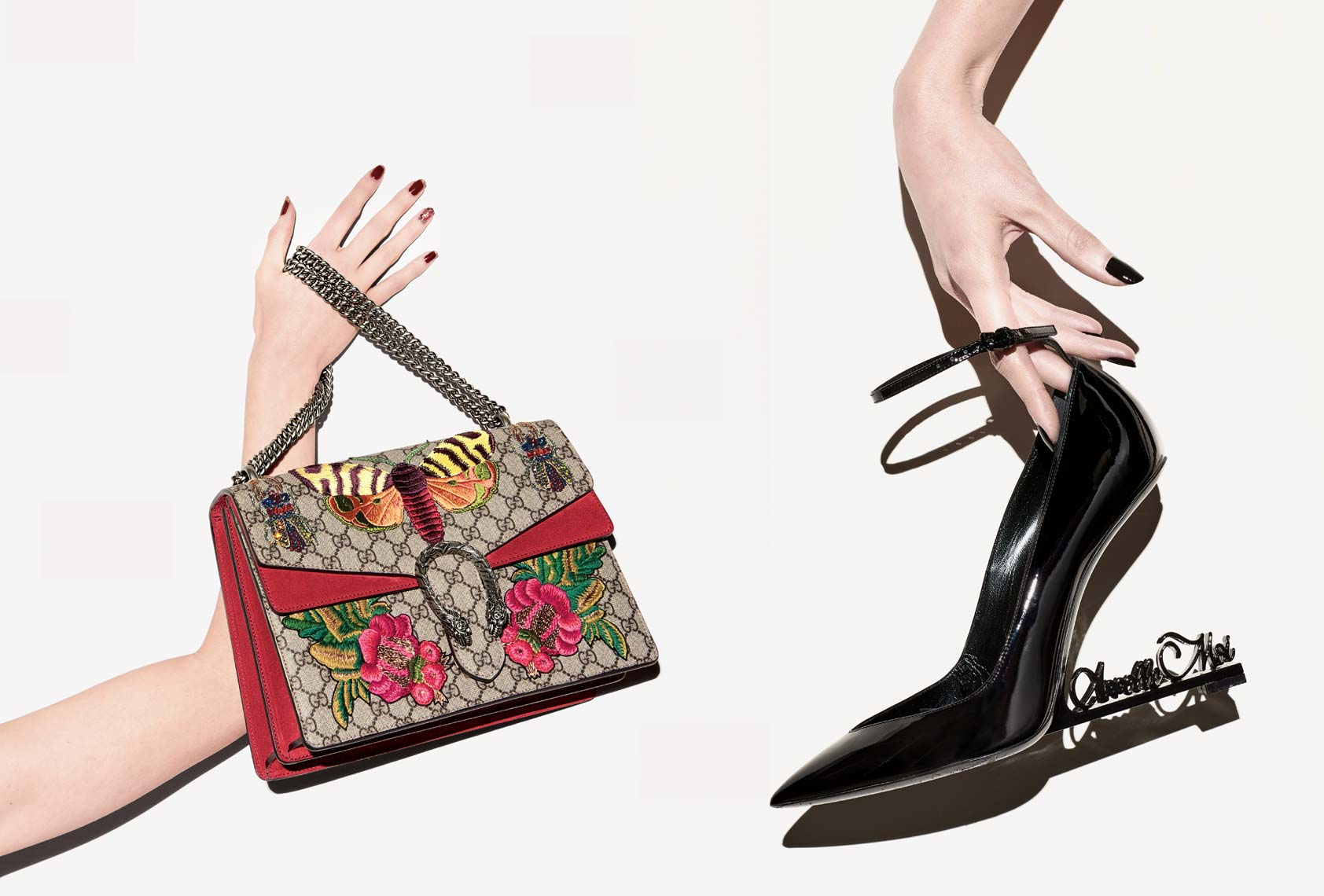 Jeff Stephens | Designer Shoes and Handbags On Figure