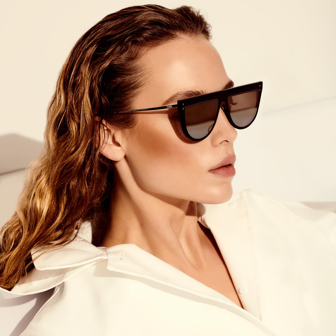 Jeff Stephens | Hanna Ferguson in Designer Sunglasses
